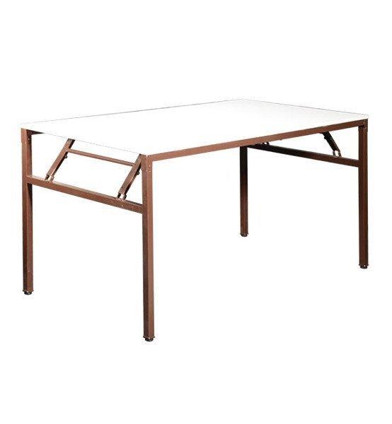 Table Pliante Rectangulaire Sms120 1200h600h760 Mm Alder Folding