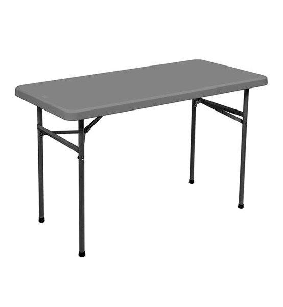 Table Pliante Rectangulaire Sts120 1220h610h740 Mm Plastic