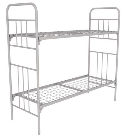 Metal bed two-stage «KM6-D»