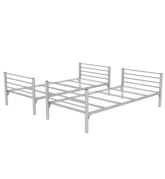 łóżko Metalowe Rozkładane Km14 90x200 Cm